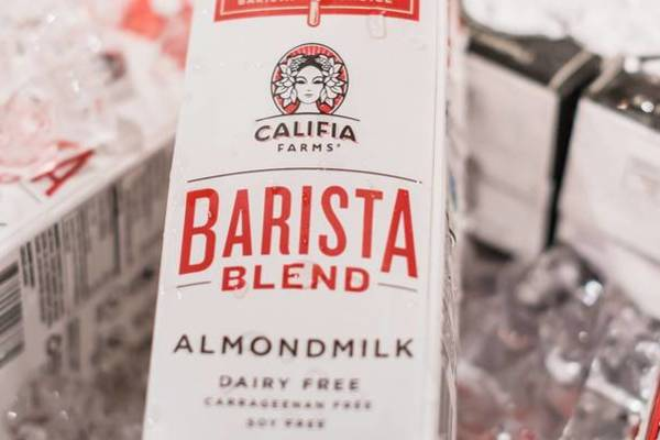 Califia x Gregorys Almond Milk Only Throwdown
