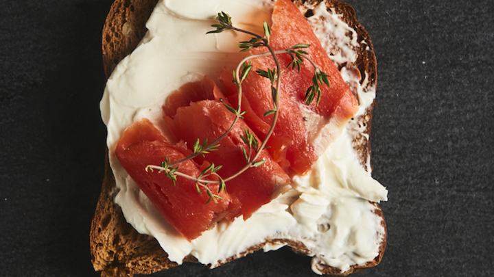 Lovely Lox Toast