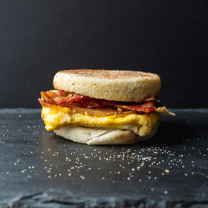 Bacon Egg Cheese on English Muffin
