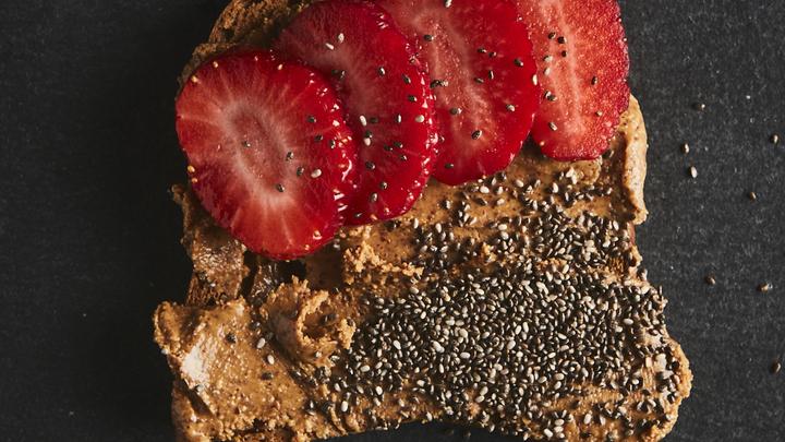 Almond Berry Toast