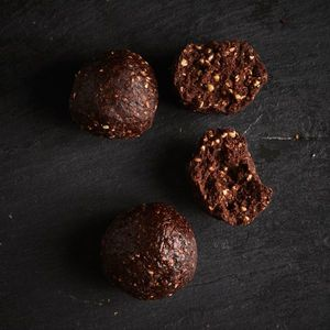 Chocolate buckwheat ball